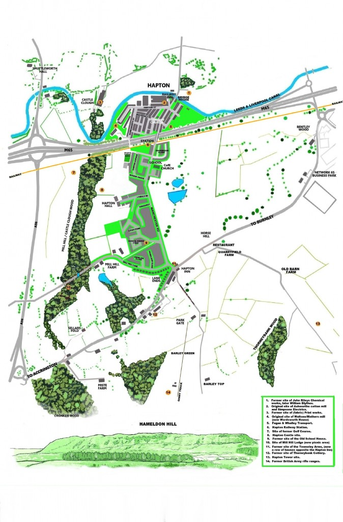 brochure Hapton Map 2