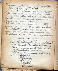 Page 16 Council School 1919