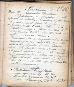 Page 19a Padiham 1830